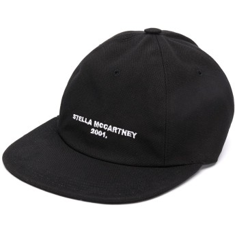 Stella McCartney ロゴ キャップ - ブラック