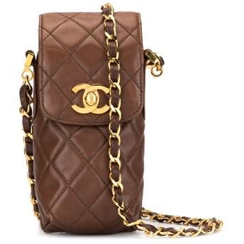Chanel Pre-Owned マトラッセ ショルダーバッグ - ブラウン