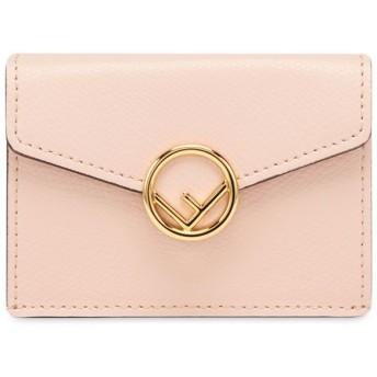 Fendi 三つ折り財布 - ピンク