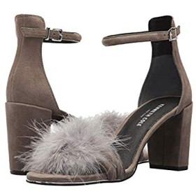 [ケネスコール ニューヨーク] レディースヒール・パンプス・靴 Lex 3 Grey Suede US 9.5 (26.5cm) M [並行輸入品]
