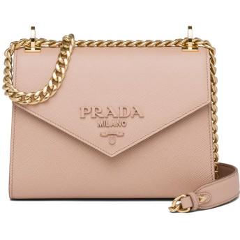 Prada エンベロープ ショルダーバッグ - ピンク