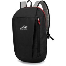 k-outdoor バックパック アウトドア キャンプ 登山用バッグ ライディング用バッグ 軽量 防水 ブラック