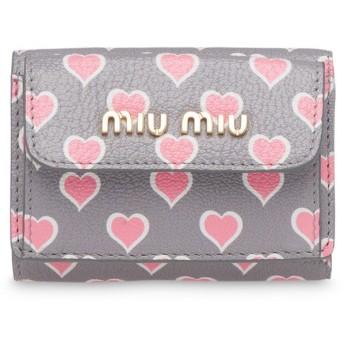 Miu Miu マドラス 財布 - グレー