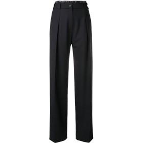 Victoria Victoria Beckham ロゴ パンツ - ブラック