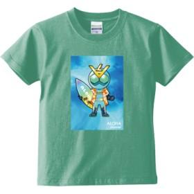 ALOHA channel アロハライダー Tシャツ<キッズ>(カラー : メロン, サイズ : 120)