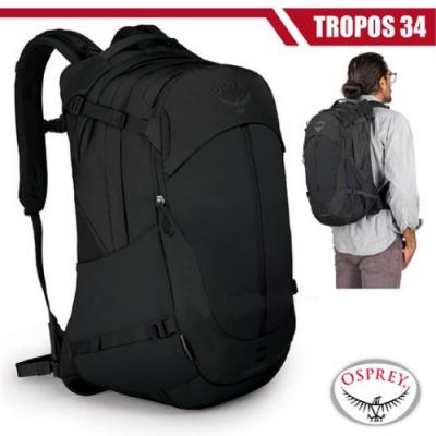 OSPREY TROPOS 34 輕量多功能口袋休閒後背包34L_黑 R