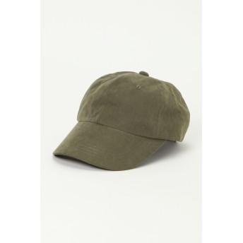 帽子全般 - ikka ピーチスキンキャップ