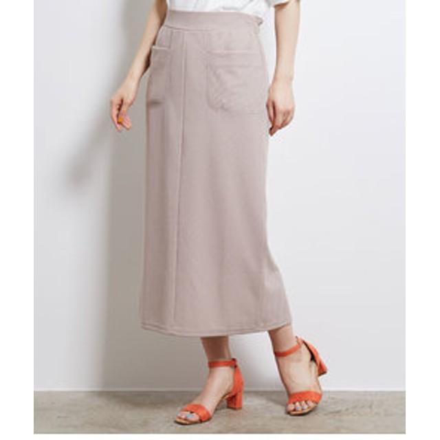【SALE/送料無料】【ROPE' PICNIC:スカート】カットソーアイラインスカート