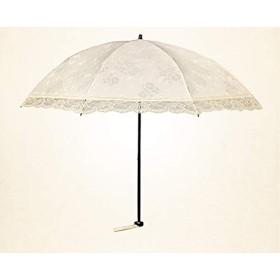 和風超軽量小型折りたたみレース太陽傘女性日焼け止めUV傘楽園王女オーシャン傘白