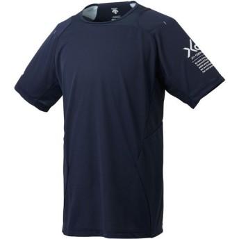 大特価!デサント(DESCENTE) ベースボールシャツ 野球ソフト Tシャツ DBMLJA51-SNVY