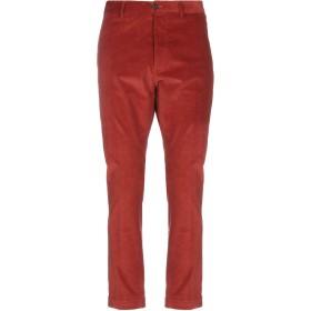 《9/20まで! 限定セール開催中》MESSAGERIE メンズ パンツ 赤茶色 50 コットン 98% / ポリウレタン 2%