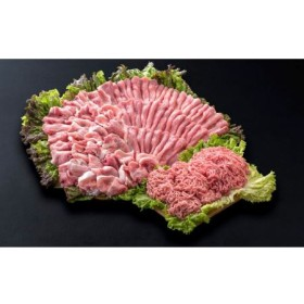 都城産豚「甘熟豚 南国スイート」2kgセット
