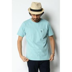 Tシャツ - ikka 汗染み軽減ポケ付きTシャツ