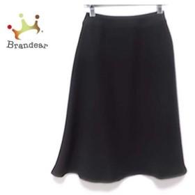 ランバンコレクション LANVIN COLLECTION スカート サイズ38 M レディース 美品 黒 新着 20190902