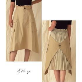 ANAP(アナップ)バックプリーツビッグポケットミリタリースカート