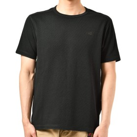 [ザ・ノース・フェイス] Tシャツ S/S Honeycomb Crew メンズ ブラック 日本 M (日本サイズM相当)