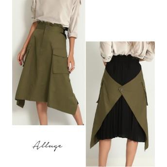 【セール開催中】ANAP(アナップ)バックプリーツビッグポケットミリタリースカート