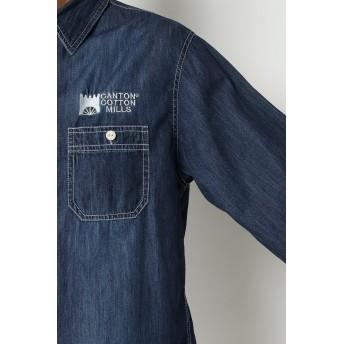 シャツ - ikka CANTON COTTON MILLS ワークシャツ