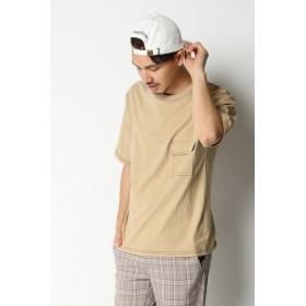 Tシャツ - ikka フラップポケット付きTシャツ