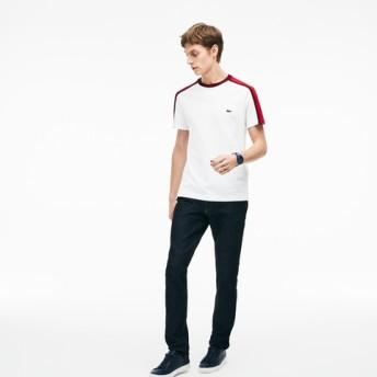 『MADE IN FRANCE』 カラーブロック クルーネックTシャツ (半袖)