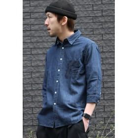 シャツ - ikka 7ブスラブデニムシャツ