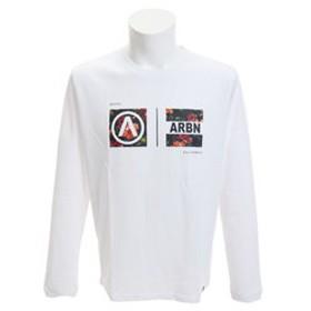 【Super Sports XEBIO & mall店:トップス】BOTANICAL BOXES 長袖Tシャツ AB03AW1219 WHT