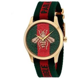 グッチ ユニセックス腕時計 Gタイムレス YA126487A