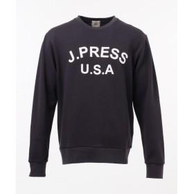 J.プレス メンズ SUPIMACOTTON LOGOトレーナー メンズ ネイビー系 M 【J.PRESS MENS】