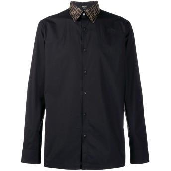 Fendi モノグラム シャツ - ブラック