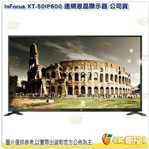 含基本安裝 鴻海 InFocus XT-50IP600 LED 智慧連網液晶顯示器 50吋 電視 螢幕 4K 附視訊盒。數位相機、攝影機與周邊配件人氣店家3C 柑仔店的影音/家電/居家用品有最棒的商品