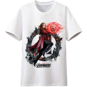 JUJURONG アベンジャーズリーグ AVENGERS Tシャツ - SCARLET WITCH スカーレット・ウィッチ