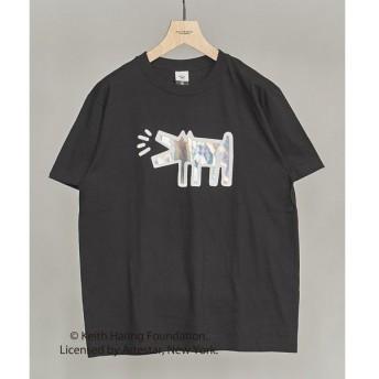 BEAUTY&YOUTH UNITED ARROWS / ビューティ&ユース ユナイテッドアローズ 【別注】 <KEITH HARING> mirror DOG TEE/Tシャツ