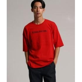 【tk. TAKEO KIKUCHI:トップス】◆エンボスロゴ Tシャツ