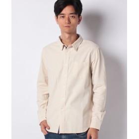 クリフメイヤー 無地ビエラレギュラーシャツ メンズ オフホワイト M 【KRIFF MAYER】