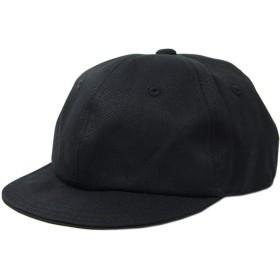 [ビッグワッチ] コットン100% 大きいサイズ メンズ 帽子 コットン ブリッジキャップ UCP-01 ブラック L XL サイズ調整