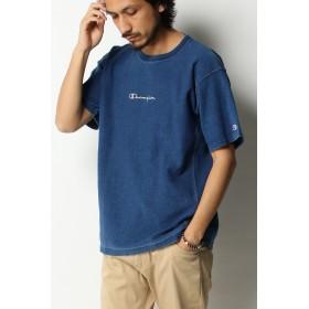 Tシャツ - ikka Champion チャンピオン リバースウィーブインディゴロゴT