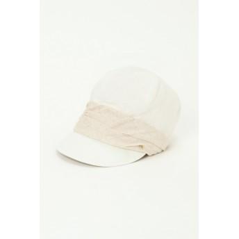 帽子全般 - ikka UVギャザーキャップ