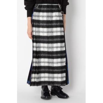 SALE 【30%OFF】 HELIOPOLE エリオポール 【ONEIL OF DUBLIN】 パッチワークマキシキルトスカート ブラック