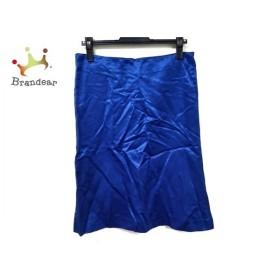 ミュウミュウ miumiu スカート サイズ42 M レディース ブルー 新着 20190902【人気】