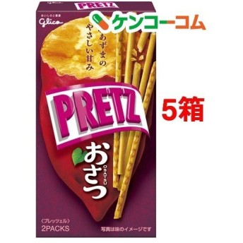 グリコ プリッツ おさつ ( 62g5箱セット )/ プリッツ(PRETZ)