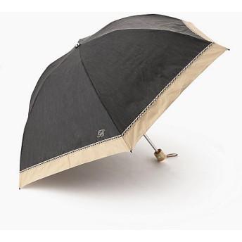 <Blao> 切継レースミニ晴雨兼用傘 チャコールグレー(97) 【三越・伊勢丹/公式】