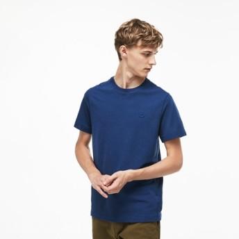 鹿の子地Tシャツ