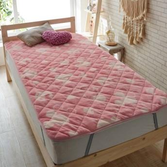 布団カバー シーツ 敷きパッド パッドシーツ X66 敷きパッド 「ピンク」