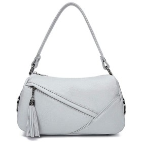 ENVOY(エンヴォイ) ショルダーバッグ斜めがけ レディース 本革 防水 ビジネス ファッション フリンジ飾り 通勤バッグ