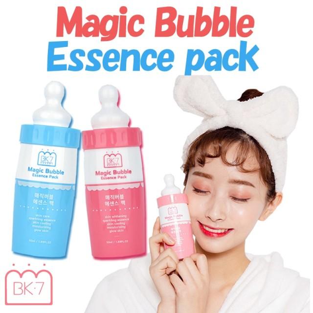 【ベーカーセブン】マジックバブルエッセンスパック/人気/ 炭酸パック/韓国コスメ/バブルパック