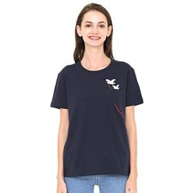 グラニフ(graniph) 【ユニセックス】Tシャツ/シーガルキャリング【200ネイビー/M】