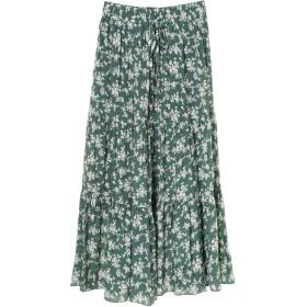 【6,000円(税込)以上のお買物で全国送料無料。】【CAVEZA ROSSO】フラワーティアードスカート