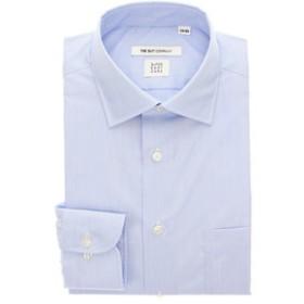【THE SUIT COMPANY:トップス】【THERMO LITE】ワイドカラードレスシャツ ストライプ 〔EC・FIT〕