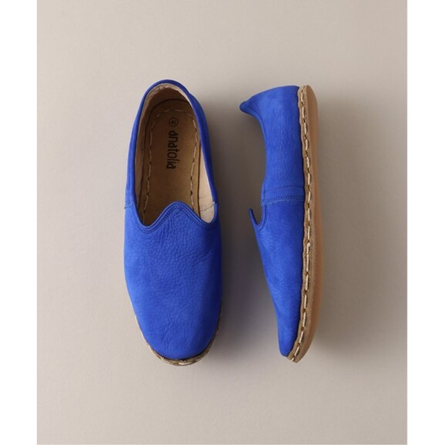 L'ECHOPPE ANATOLIA SHOES ブルー A 39