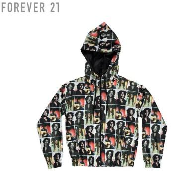 FOREVER21 フォーエバー21 【Bob Marleyウィンドブレーカー】(5,000円以上購入で送料無料)